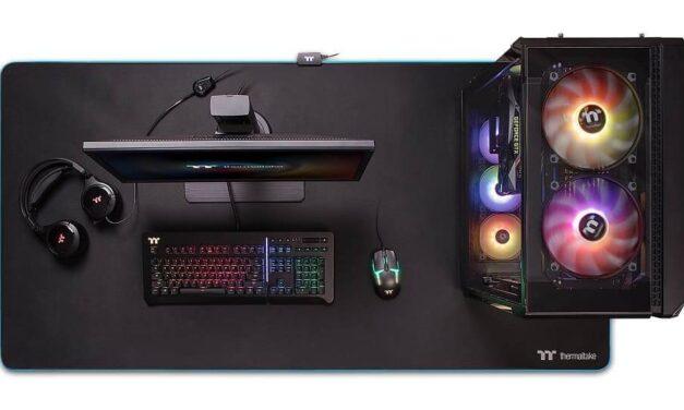 Disfruta de tus juegos con la alfombrilla para ratón Thermaltake M900 XXL RGB