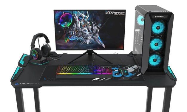 Newskill presenta su gran lanzamiento de 2020: Manticore, su PC Gaming con periféricos incluidos