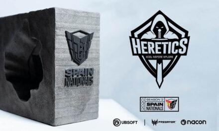 Team Heretics campeón de la R6 Spain Nationals Season 2