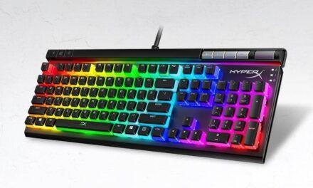 HyperX amplía su línea de productos con el teclado mecánico para videojuegos Alloy Elite 2