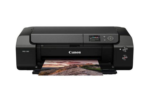 Conoce la nueva imagePROGRAF PRO-300, una impresora fotográfica profesional A3+ de alta calidad, con un diseño para ahorrar espacio