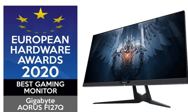 "AORUS FI27Q gana el European Hardware Award como ""Best Gaming Monitor"""