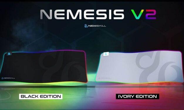 Llega al catálogo de Newskill su primera alfombrilla en color blanco: Nemesis V2 Ivory