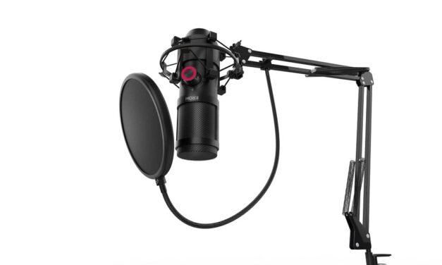 Krom presenta Kapsule, un micrófono HD de doble condensador, con antishock y filtro antipop