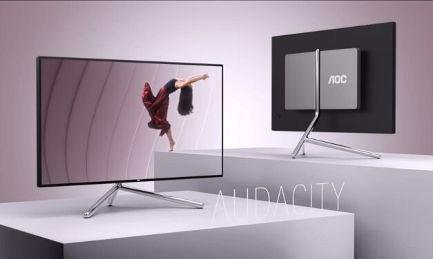 AOC lanza el monitor premium U32U1 de 31.5″ diseñado por Studio F. A. Porsche