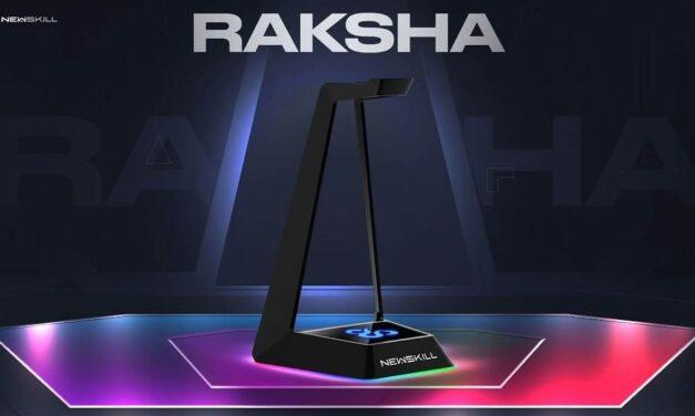 Newskill presenta su nuevo soporte gaming con RGB para auriculares: Raksha