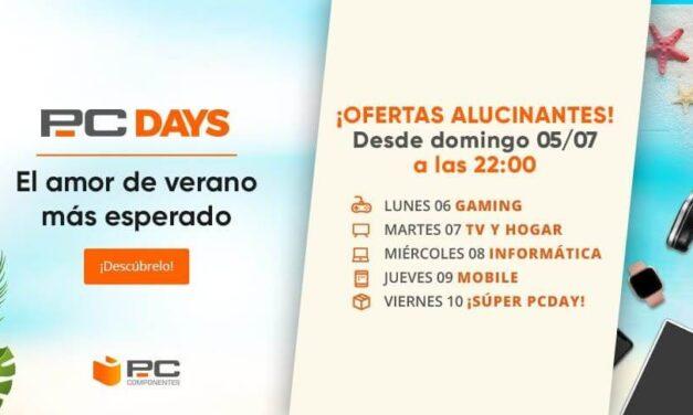 PcComponentes anuncia los PcDays, su Black Friday veraniego, con ofertas de hasta el 50%