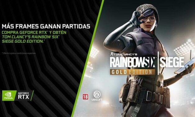 El Mega-Hit 'Tom Clancy's Rainbow Six Siege' incluído con las gráficas GeForce RTX