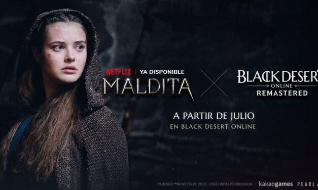 """Pearl Abyss y Kakao Games incluirán contenido de la serie de fantasía medieval de Netflix """"Maldita"""" en el videojuego Black Desert"""