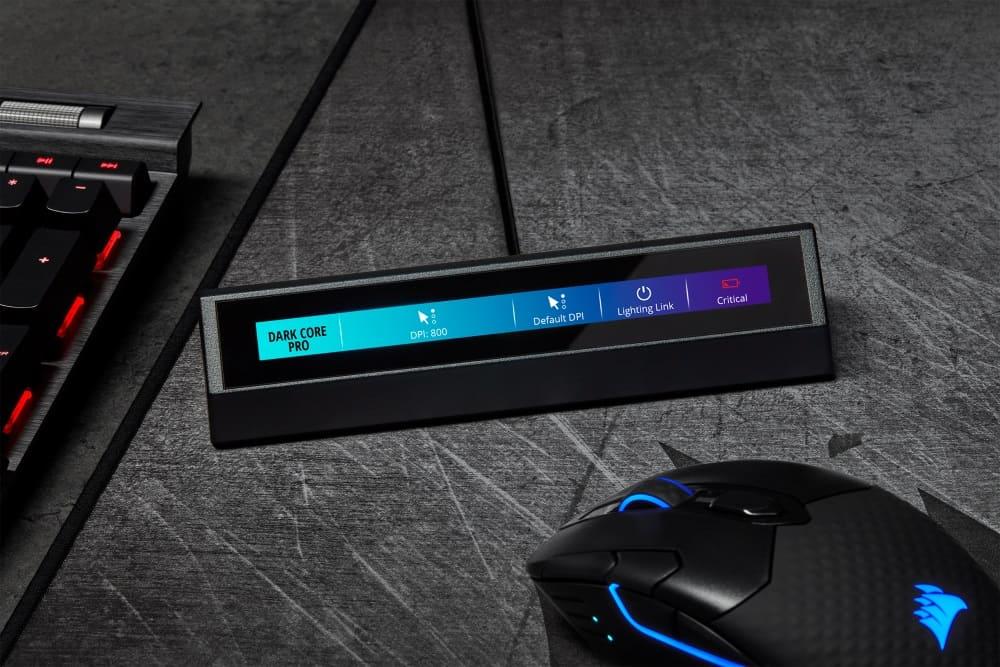 Controle su sistema con un toque. CORSAIR lanza la pantalla táctil iCUE NEXUS Companion