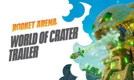 Bienvenidos a Cráter: Rocket Arena presenta todos sus mapas con un nuevo y explosivo tráiler