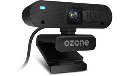 Ozone presenta su primera webcam: LiveX50, con resolución FHD, autofocus y doble micrófono integrado