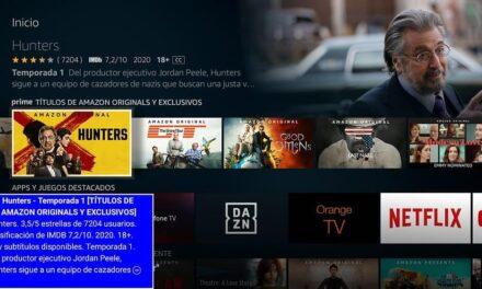 Amazon anuncia el Banner de Texto para Fire TV – Nueva tecnología de asistencia diseñada para clientes con un campo de visión reducido