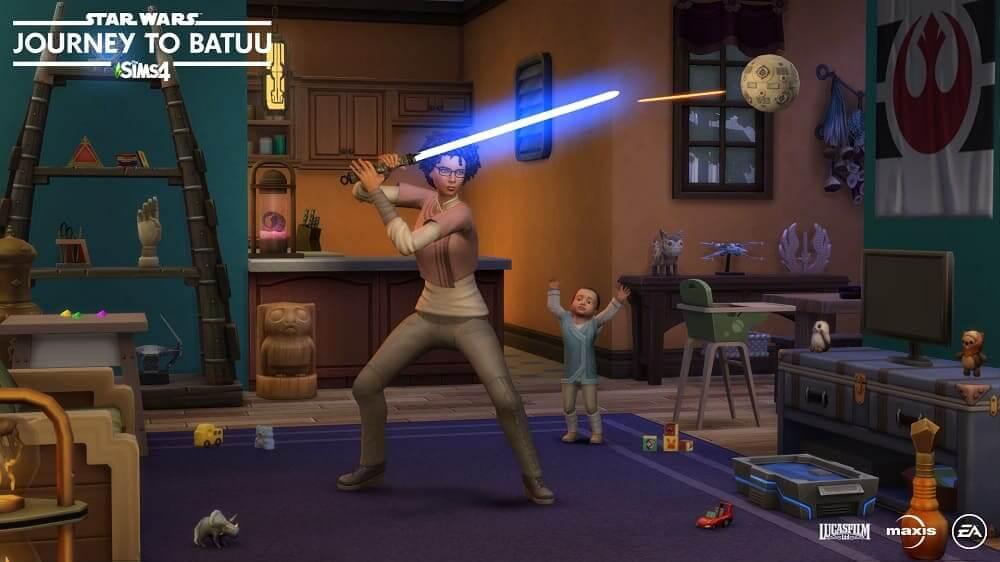 'Los Sims 4 Star Wars: Viaje a Batuu' desvela detalles de su jugabilidad en un nuevo tráiler