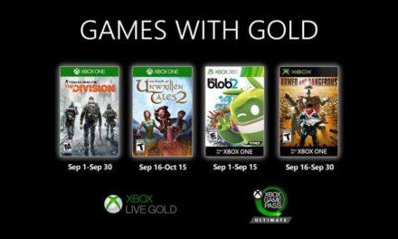 Anunciados los Games with Gold de septiembre de 2020