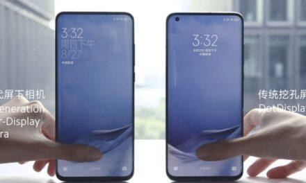 Xiaomi presenta la tercera generación de su tecnología de cámara bajo pantalla