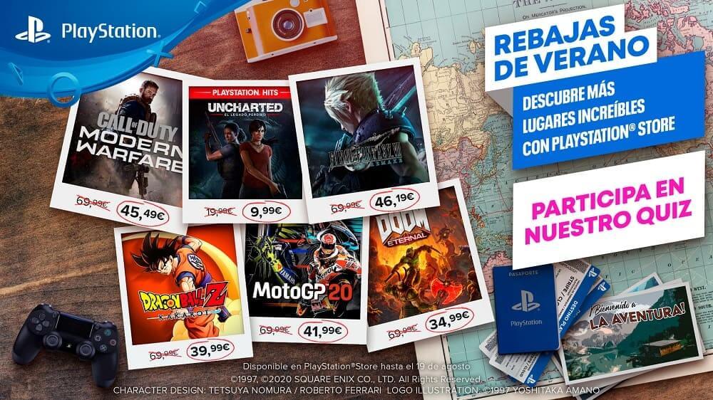 La segunda oleada de las Rebajas de Verano llega a PlayStation Store con nuevos destinos