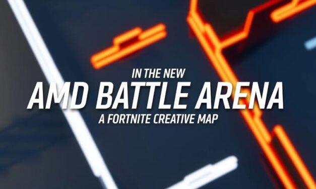 """AMD presenta el """"AMD Battle Arena"""" para los jugadores de Fortnite"""