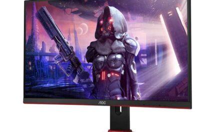 AOC anuncia cuatro nuevos monitores para videojuegos con 165 Hz de frecuencia de refresco y 1500R de curvatura
