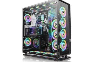 La nueva torre de cristal templado Thermaltake Core P8 ya está disponible