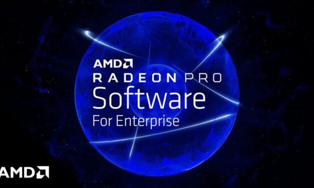 AMD lanza el software Radeon PRO para empresas 21.Q2