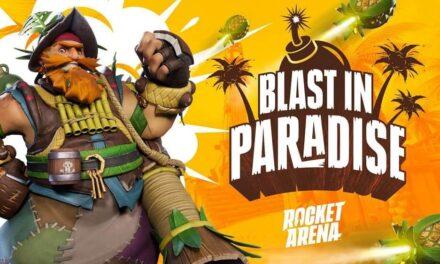 Llega el Bombazo en el Paraíso, el primer evento online de Rocket Arena