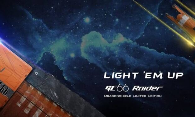 ¡Descubre esta fantástica edición limitada del GE66 Raider Dragonshield!