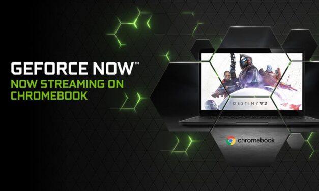 La beta de GeForce NOW llega a ChromeOS
