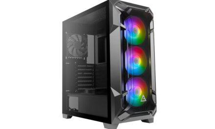 DF600 FLUX: El nuevo chasis gaming de Antec presenta un diseño líder en la industria de la refrigeración avanzada