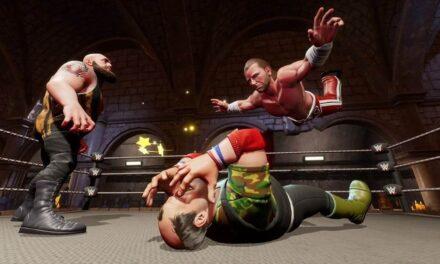 WWE 2K Battlegrounds ya está disponible