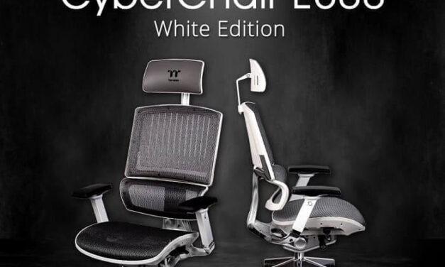 Silla ergonómica CyberChair E500 White Edition de Thermaltake