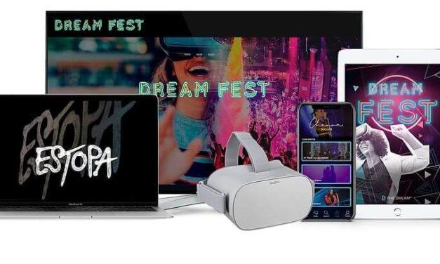 La española The Dream VR crea el primer festival virtual de música en 360 y Realidad Virtual del mundo