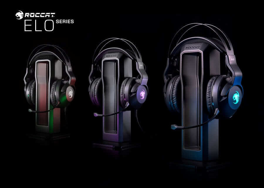 ROCCAT anuncia los auriculares para PC de la Serie Elo para el 4 de octubre