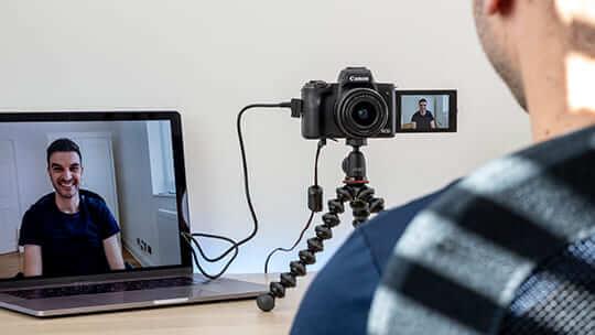 Transforma tu cámara Canon en una webcam de alta calidad con el software EOS Webcam Utility