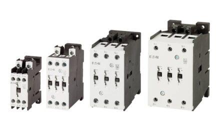 RS Components ofrece la gama completa de contactores compactos de Eaton que permiten hasta un 40% de ahorro de espacio