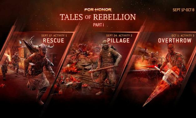 La Season 3 del Year 4 de For Honor, Resistance, se lanza hoy