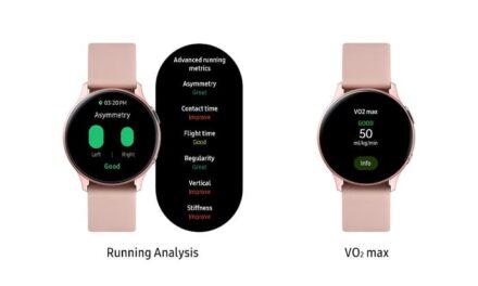 Galaxy Watch Active2 recibe nuevas actualizaciones de software para poder llevar una vida más saludable