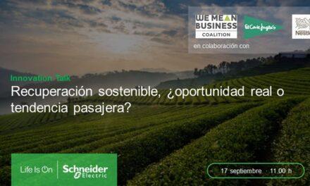 La recuperación sostenible del Retail, la Alimentación y las bebidas protagoniza la próxima Innovation Talk de Schneider Electric