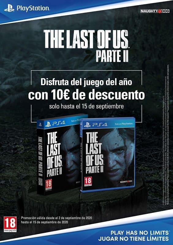The Last of Us Parte II tendrá un descuento de 10€ hasta el 15 de  septiembre | Fanáticos del Hardware