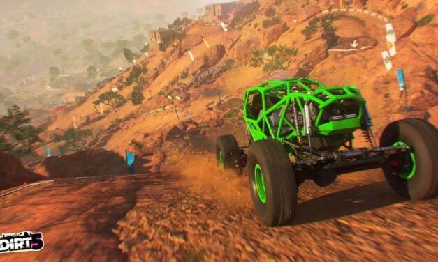 Primer vídeo de juego de DIRT 5 en Xbox Series S