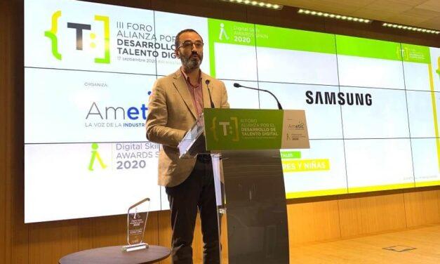 Samsung DesArrolladoras, proyecto premiado en los Digital Skill Awards Spain 2020