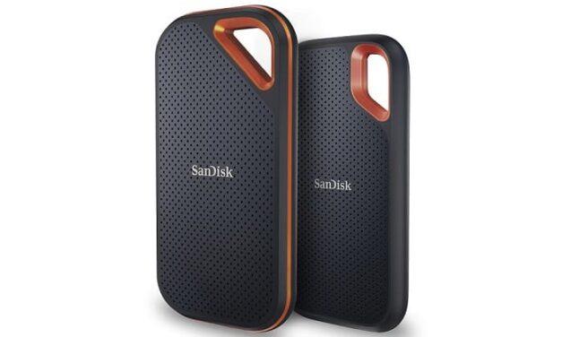 Los nuevos modelos SanDisk Extreme Portable SSD de Western Digital ofrecen mayores niveles de velocidad y portabilidad
