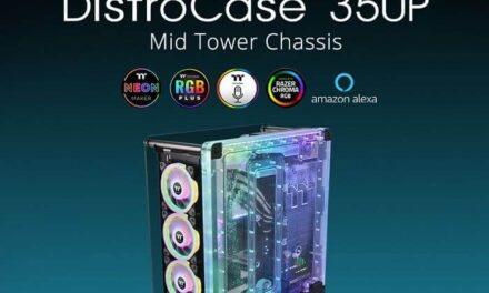 Ya está disponible el chasis Mid-Tower Thermaltake DistroCase 350P