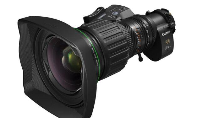 Canon fortalece su gama de objetivos 4K para broadcast con el CJ20ex5B, un objetivo zoom BCTV de concepto híbrido flexible