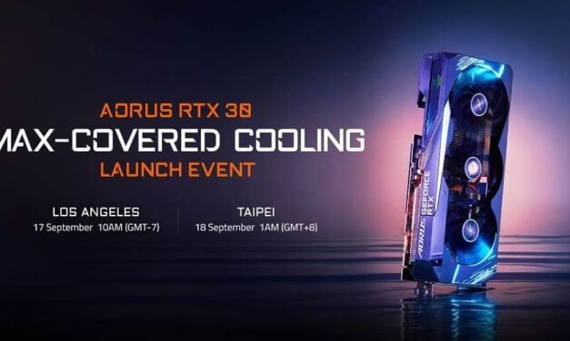 GIGABYTE realizará un evento de lanzamiento en línea centrado en la nueva tecnología de refrigeración para la última serie AORUS RTX 30