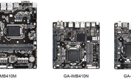 GIGABYTE presenta la placa base IoT con soporte para Intel 10th Gen Comet Lake-S