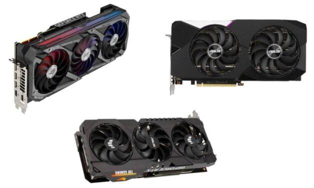 ASUS anuncia las nuevas gráficas ROG Strix, TUF Gaming y Dual basadas en NVIDIA GeForce RTX 30 Series