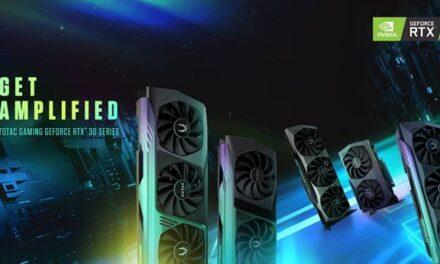 Amplifícate con la nueva serie GeForce RTX 30 de ZOTAC GAMING