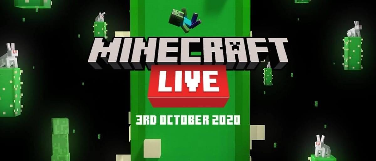 ¡Minecraft Live regresa el 3 de octubre!
