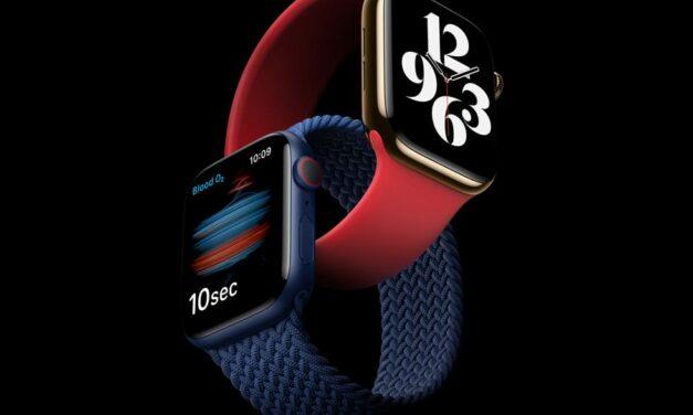 El Apple Watch Series 6 estrena prestaciones revolucionarias de bienestar y fitness